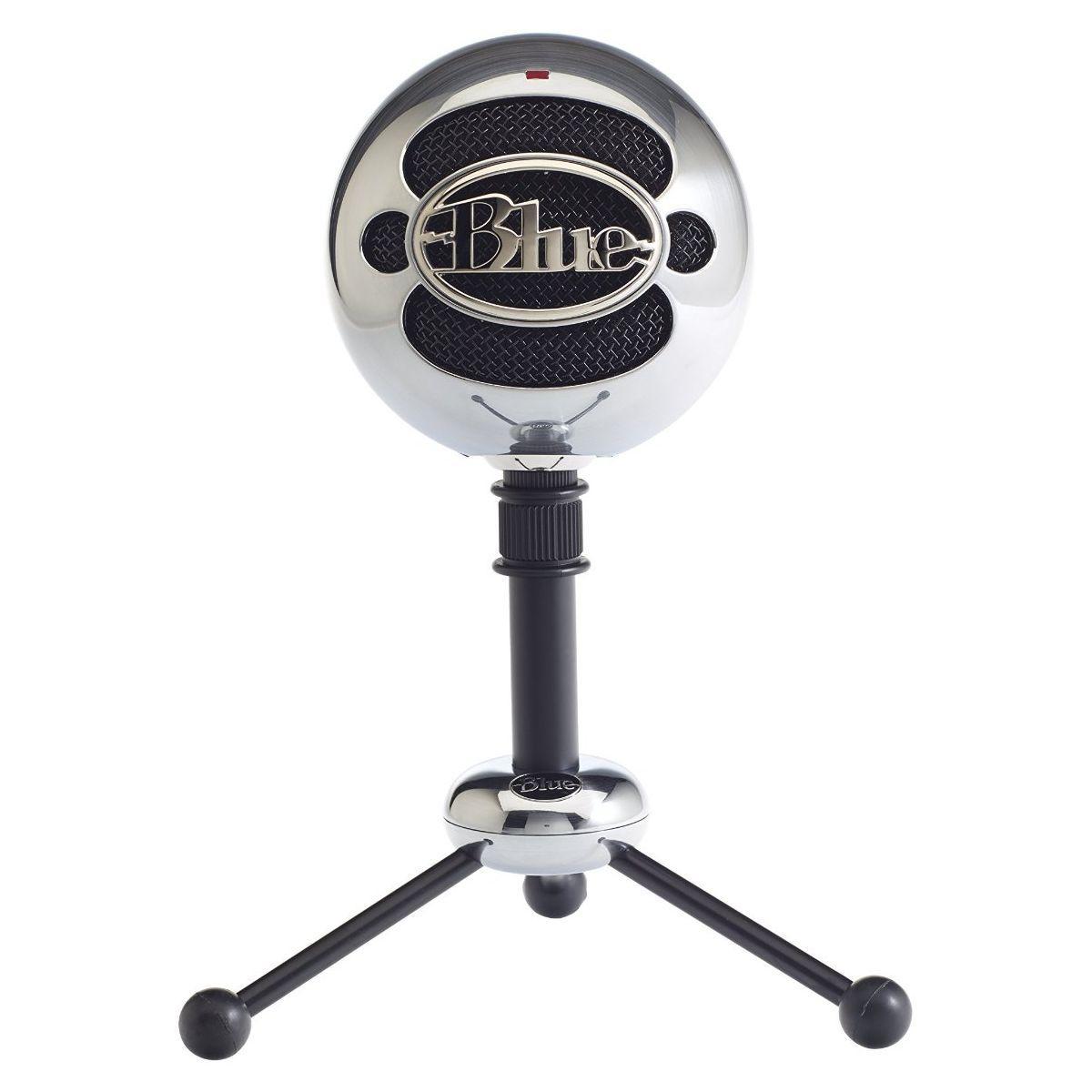Micro gamer blue microphones snowball alu bross� - livraison offerte : code liv (photo)