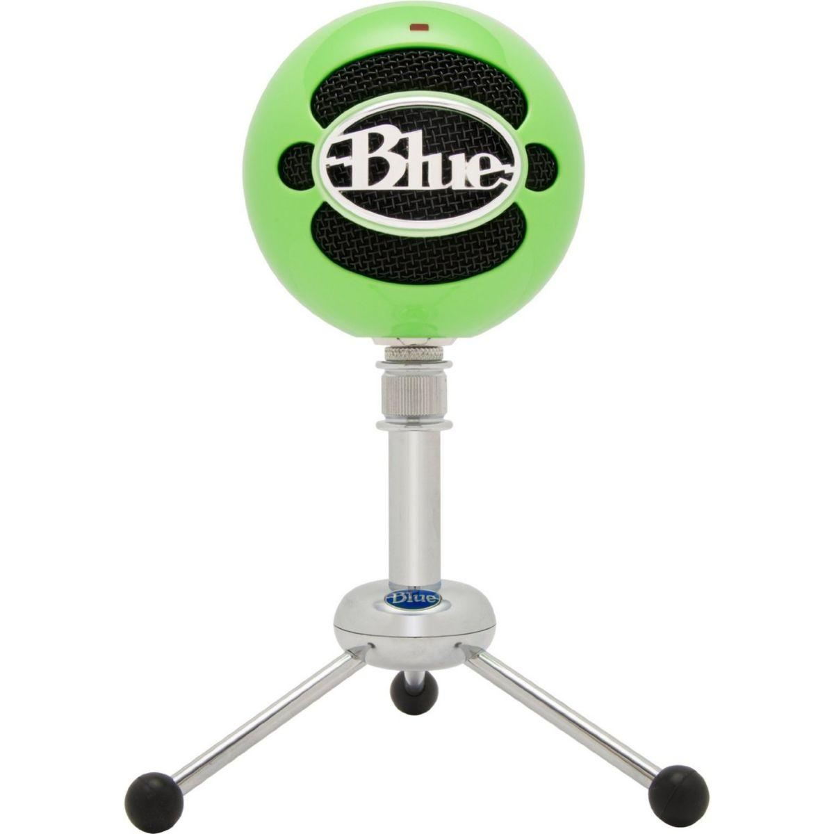Micro gamer blue microphones snowball vert n�on - 20% de remise imm�diate avec le code : priv20 (photo)
