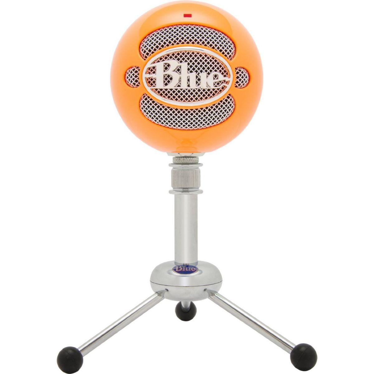 Micro gamer blue microphones snowball orange n�on - 20% de remise imm�diate avec le code : priv20 (photo)