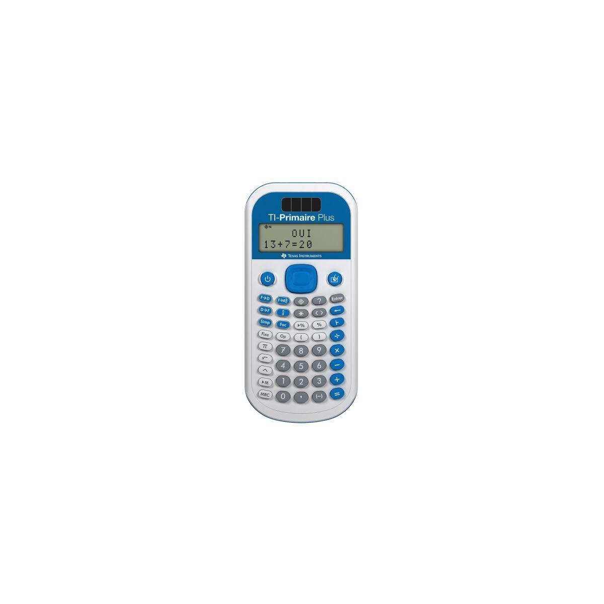 Calculatrice scientifique texas instruments ti primaire+ - 20% de remise imm�diate avec le code : deal20 (photo)