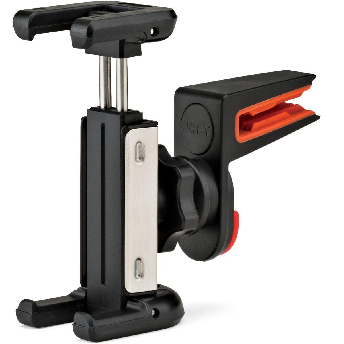 Support smartphone joby ventilation clip noir griptight auto - livraison offerte : code liv (photo)