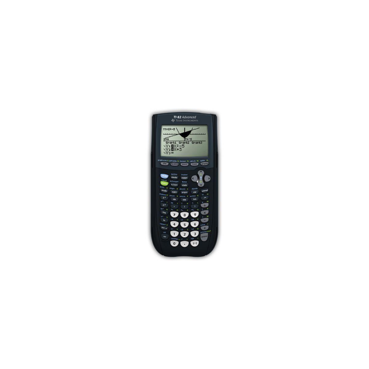 Calculatrice graphique texas instruments ti-82 advanced (photo)