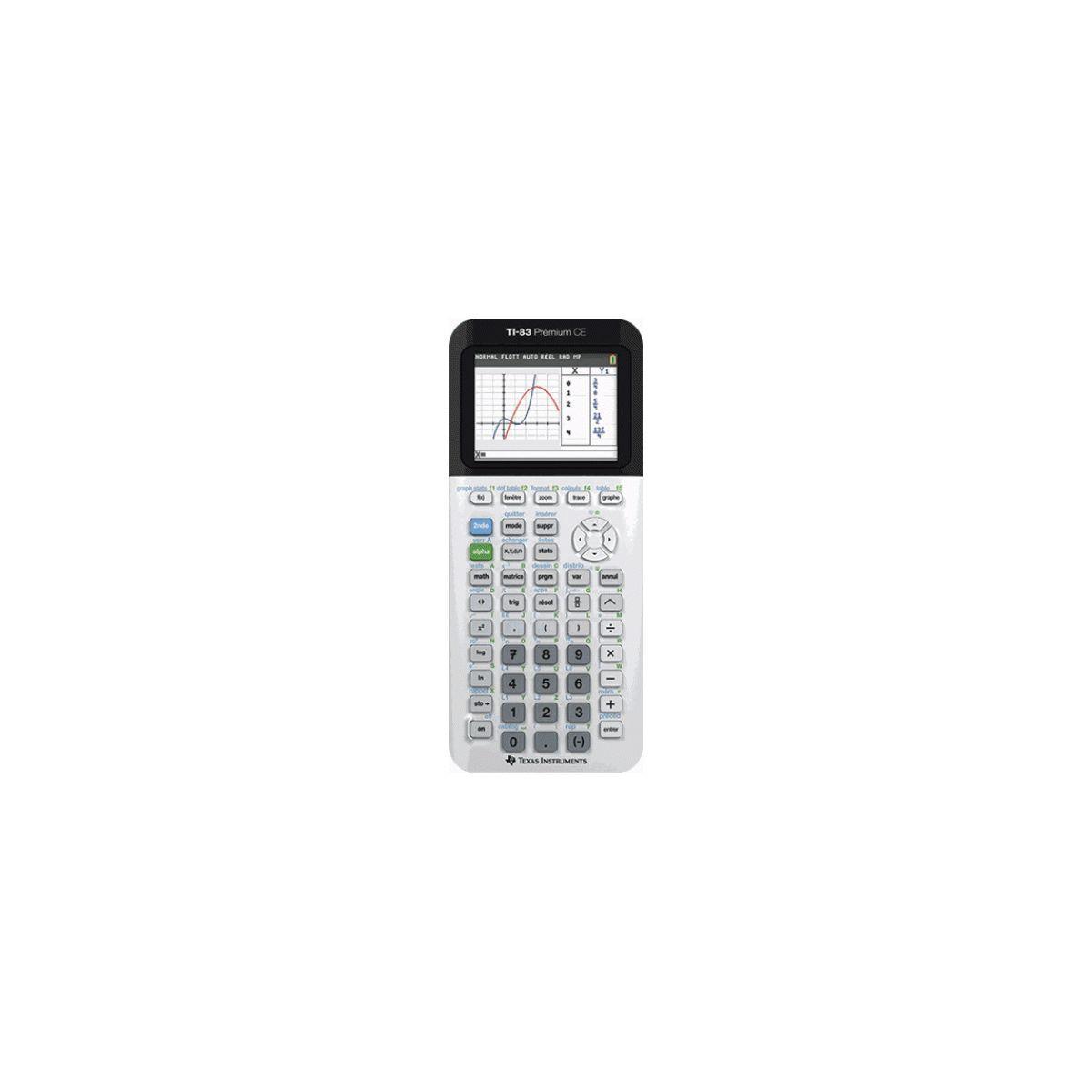 Calculatrice graphique texas instruments ti-83 premium ce - 2% de remise imm�diate avec le code : deal2 (photo)