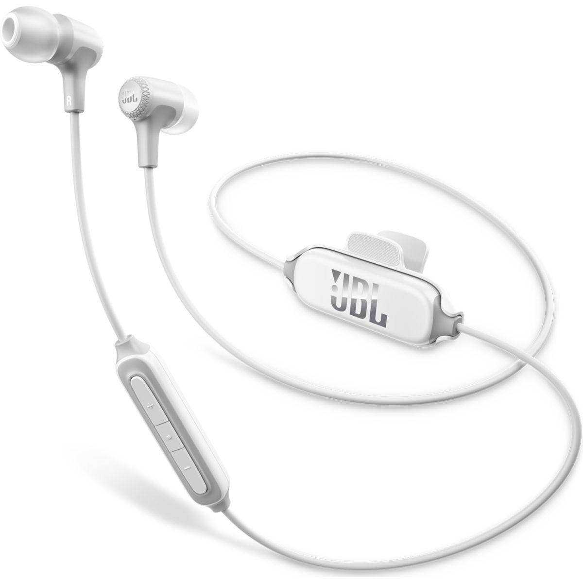 Ecouteurs intra jbl e25 bt blanc - livraison offerte : code liv