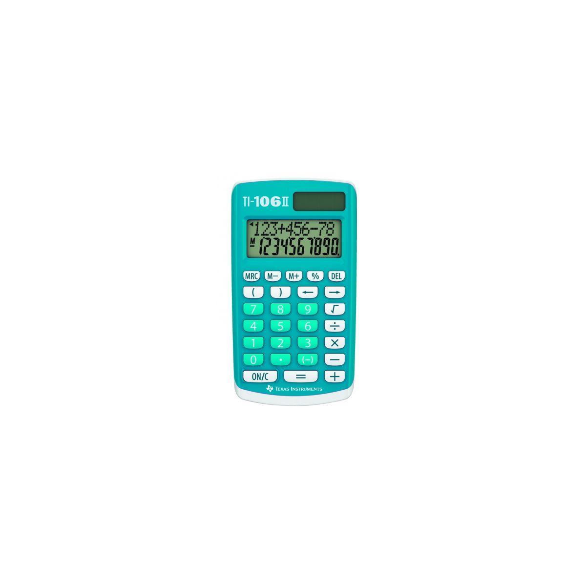 Calculatrice standard texas instruments ti-106 ii - 2% de remise imm�diate avec le code : deal2 (photo)