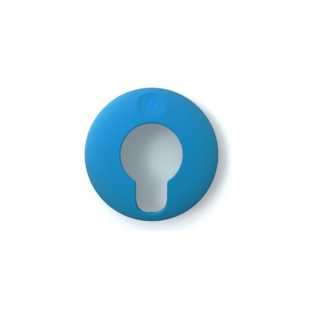 Coque tomtom coque protection silicone bleue ciel vio - livraison offerte : code livrelais (photo)