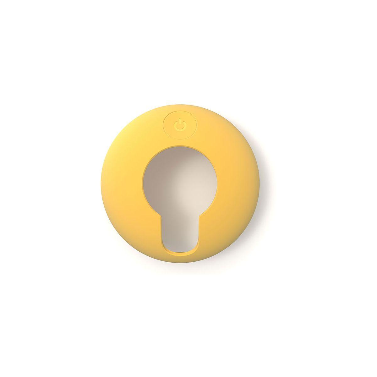 Coque tomtom coque protection silicone jaune vio (photo)
