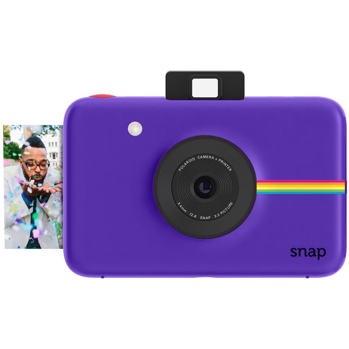 Appareil photo instantan? polaroid snap violet - 2% de remise ...