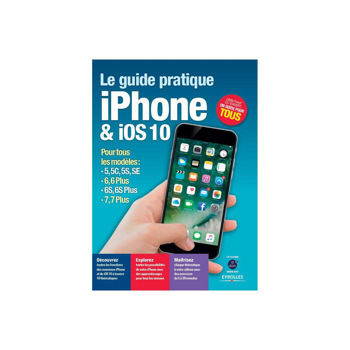Librairie informatique bdom+ l'univers iphone ios10 (photo)