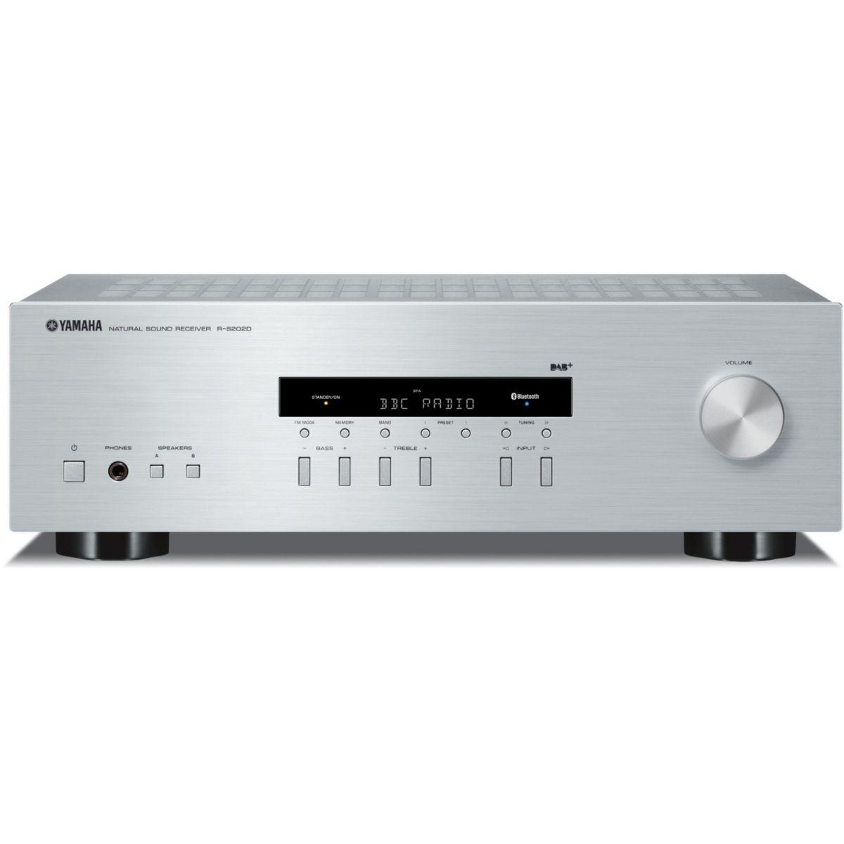Amplificateur hifi yamaha rs202d silver - livraison offerte : ...