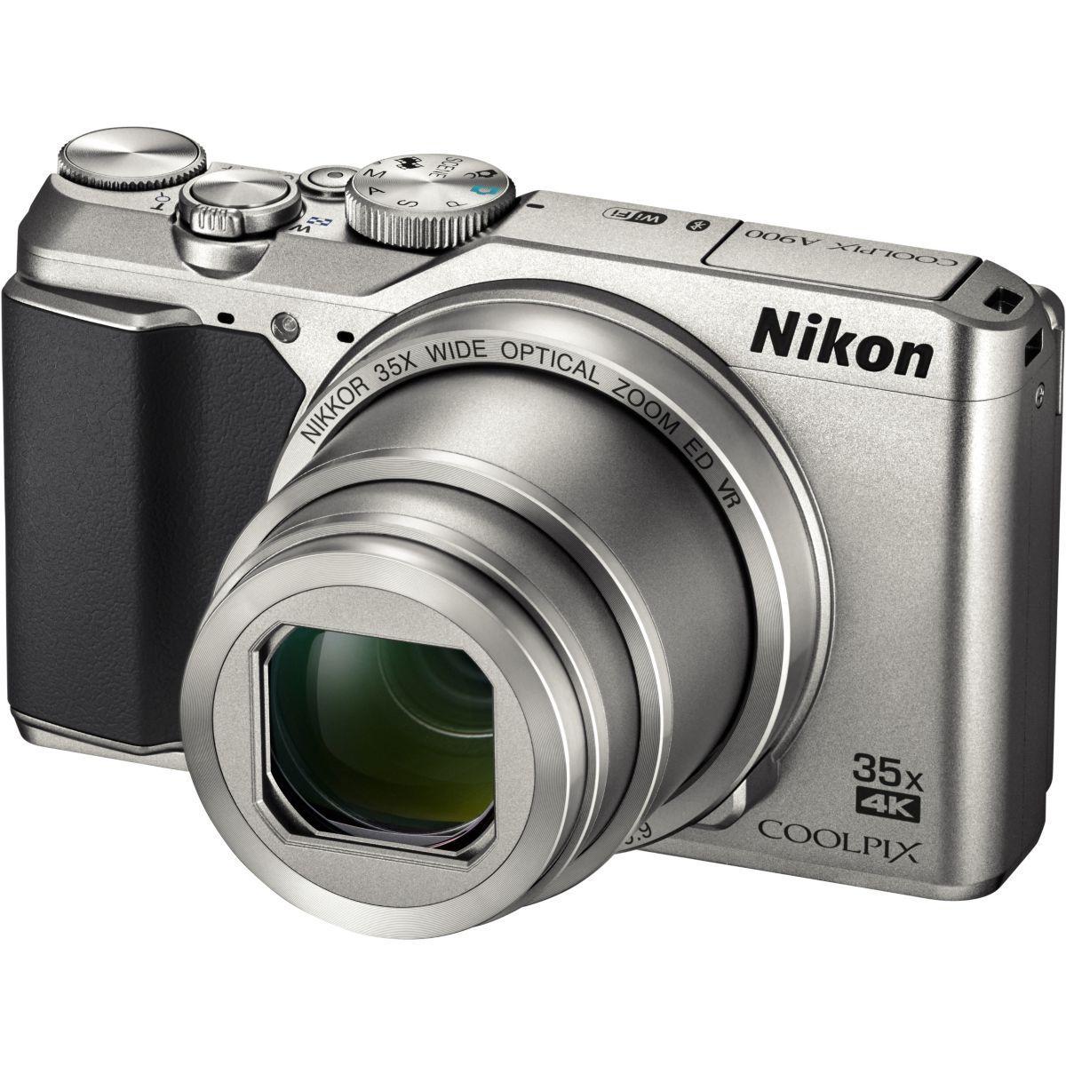 Appareil photo compact nikon coolpix a900 silver (photo)