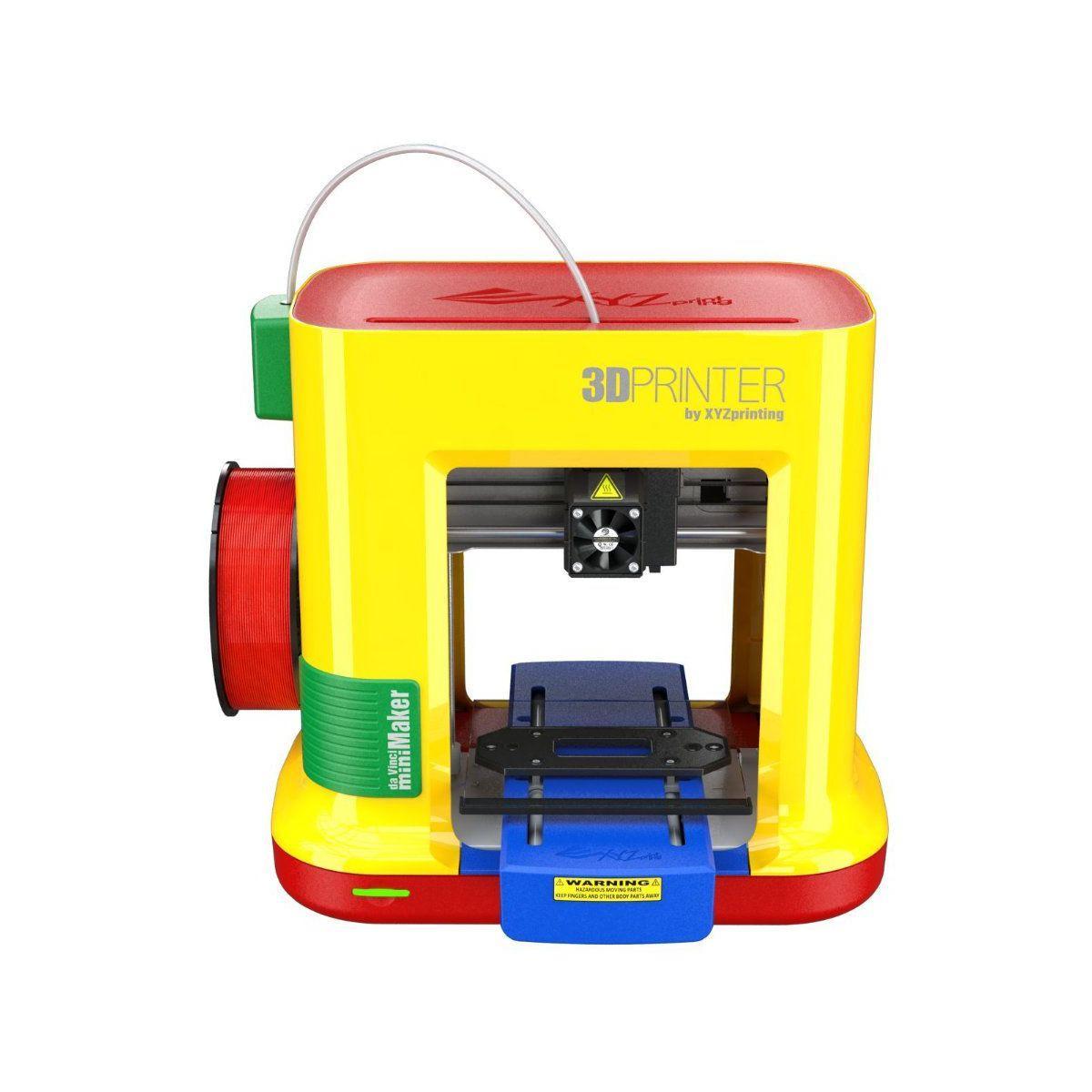 Imprimante xyz printing mini maker 1 têt - soldes et bons plans