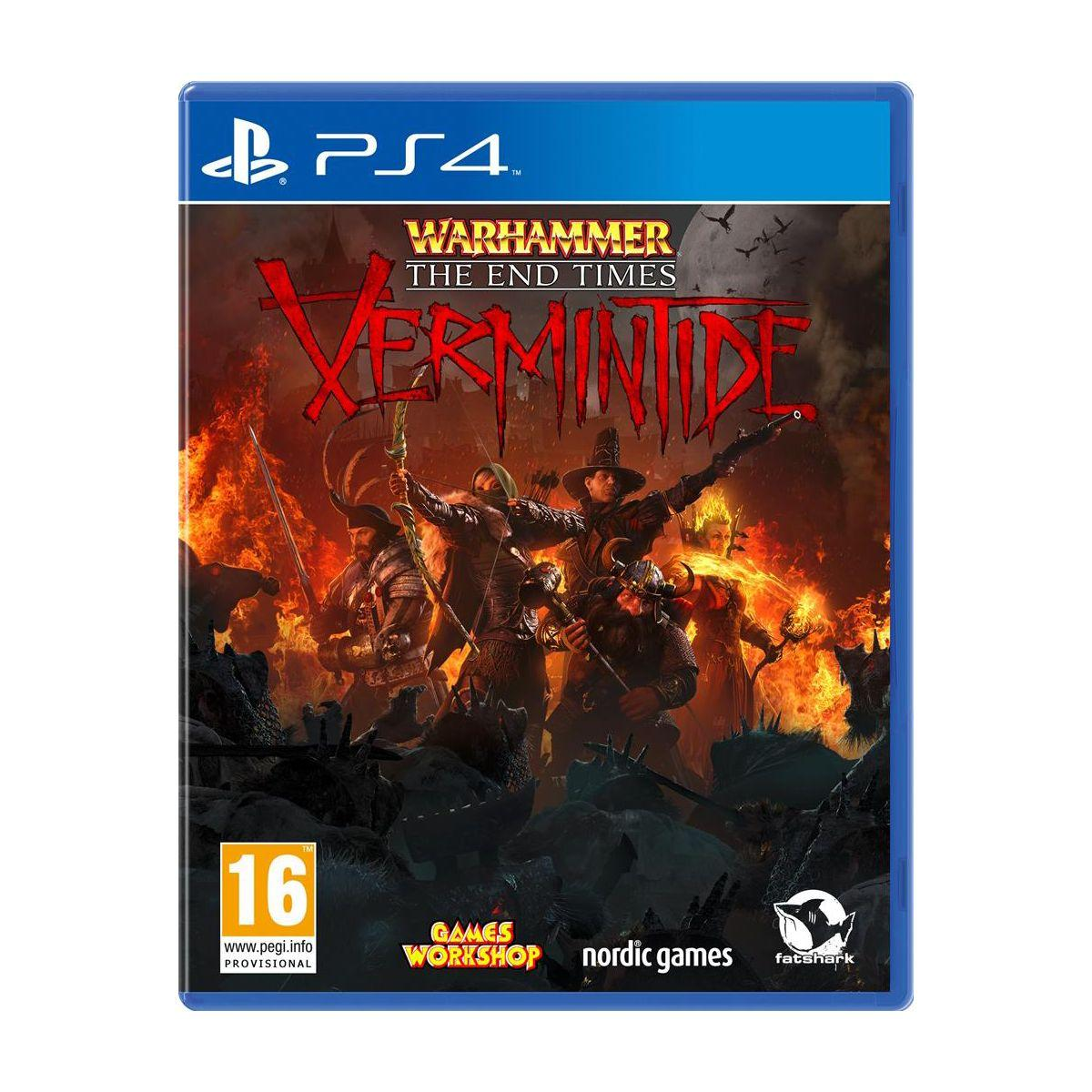 Jeu ps4 just for games warhammer the end (photo)