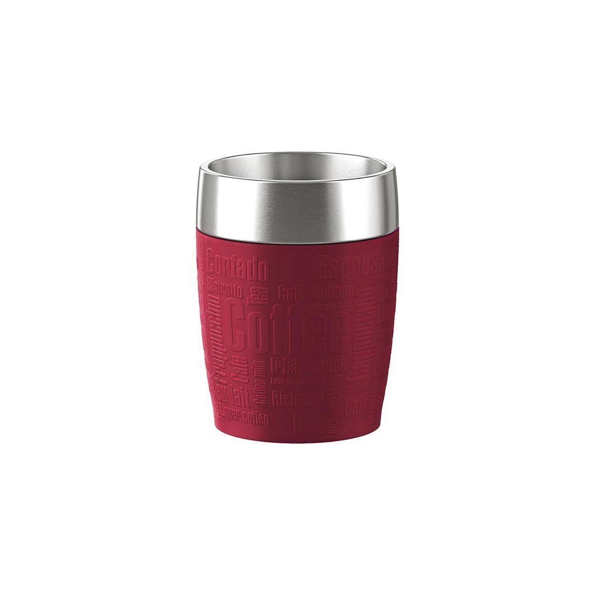 Mug emsa isotherme 0.2l inox/rouge - 15% de remise immédiate avec le code : cash15 (photo)