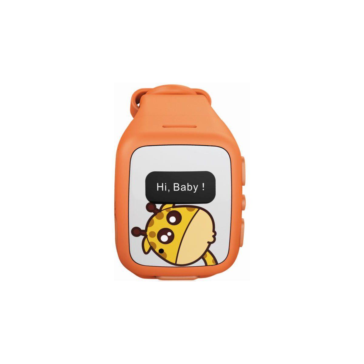 Montre ksix kidsafe orange - 2% de remise immédiate avec le code : top2 (photo)