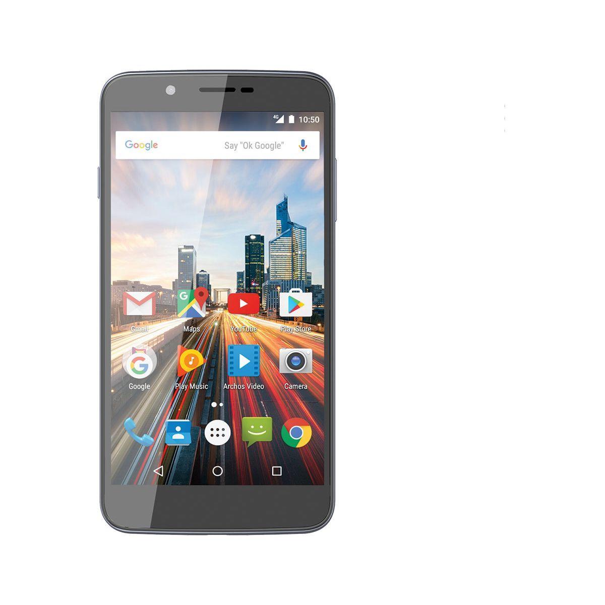 Smartphone archos 55 helium gris 16 go 4