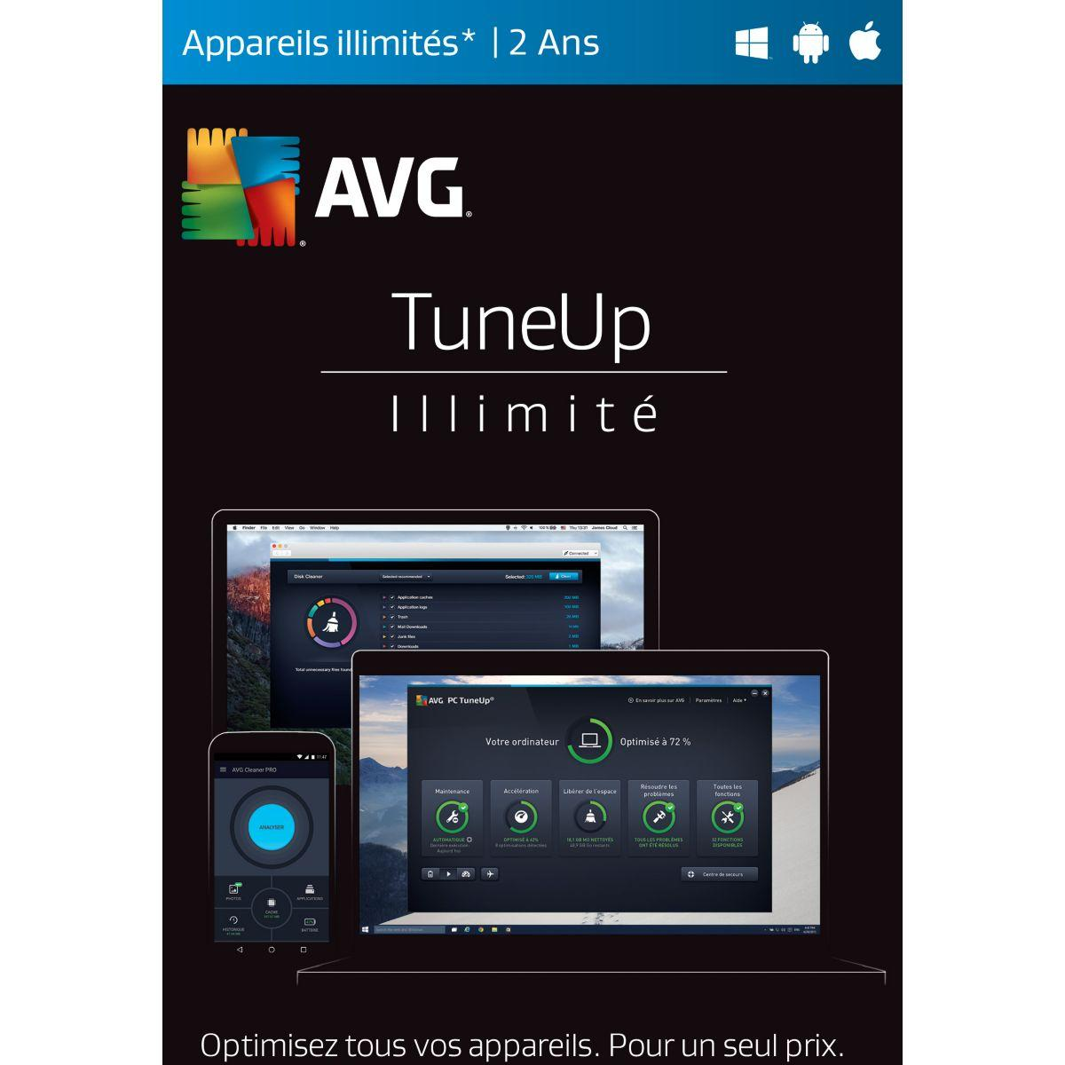 Log-pc tune up tuneup (appareils illimit - 2% de remise immédiate avec le code : wd2 (photo)