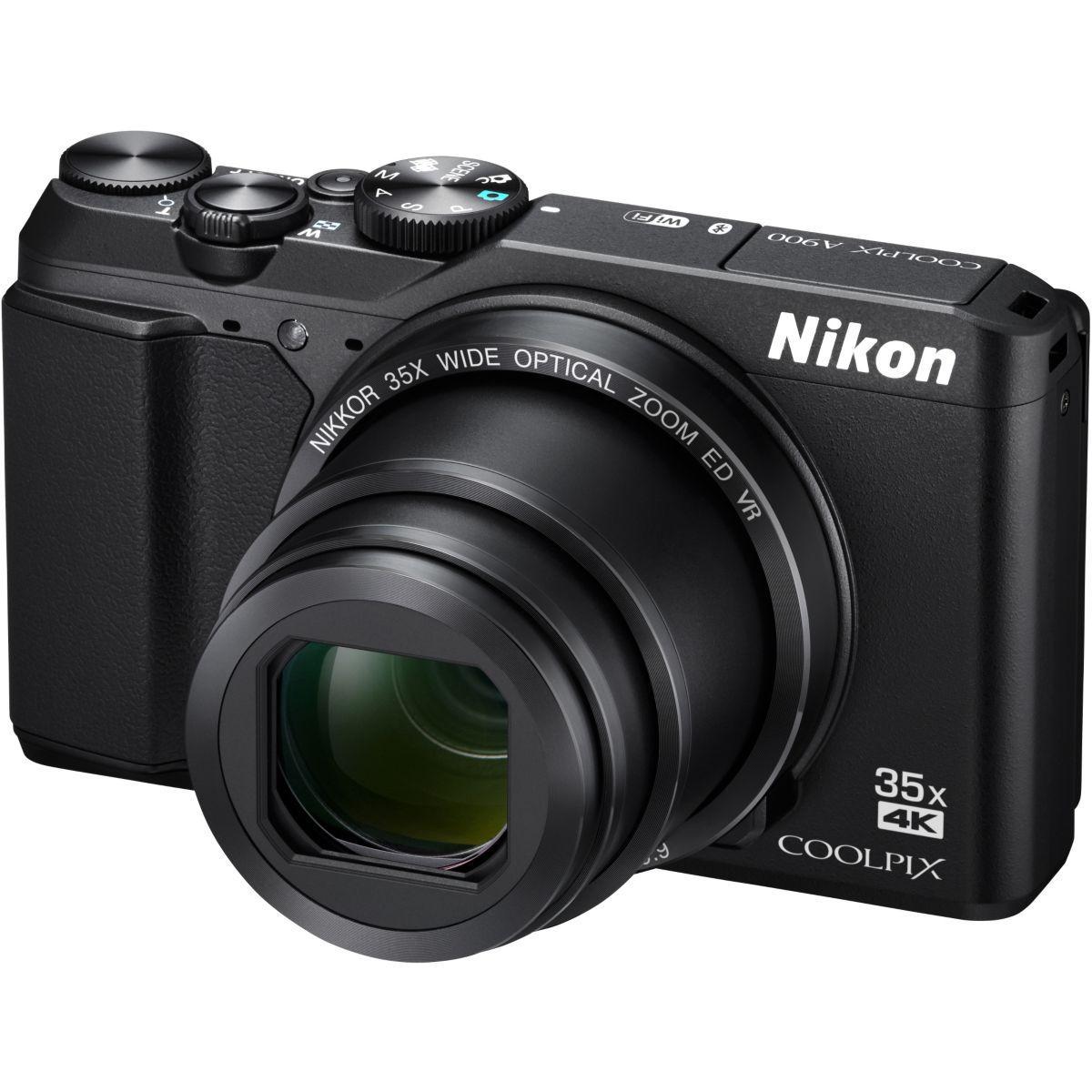 Appareil photo compact nikon coolpix a900 noir (photo)