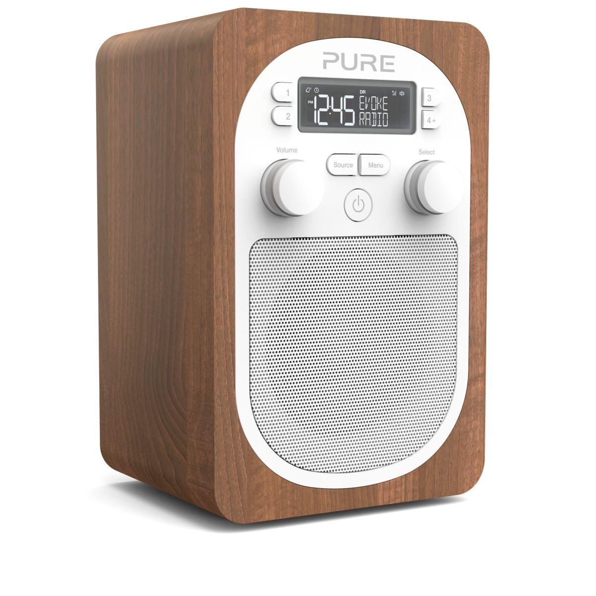 Radio num�rique pure evoke h2 walnut - 2% de remise imm�diate avec le code : automne2