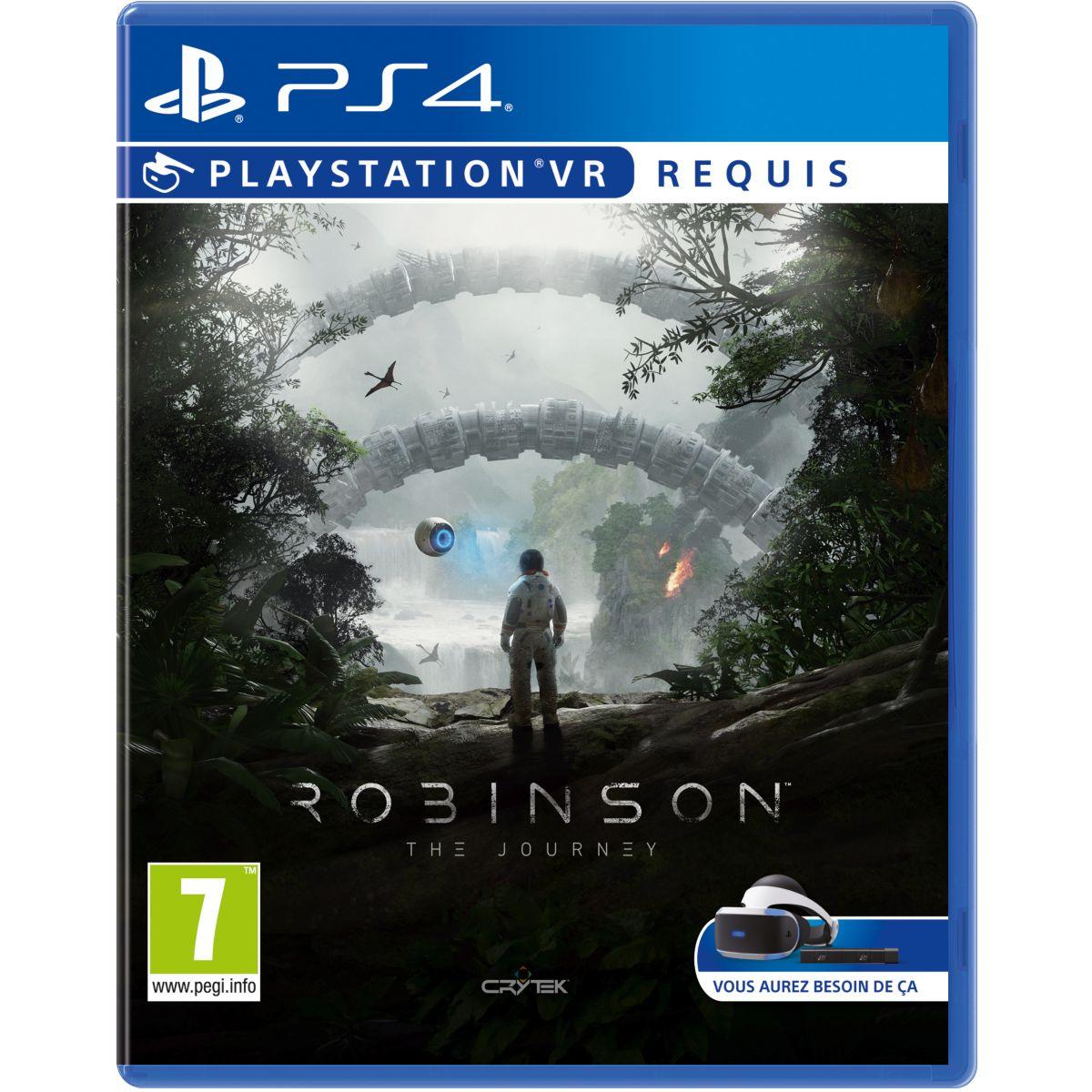 Jeu ps4 sony jeu vr robinson the journey (photo)