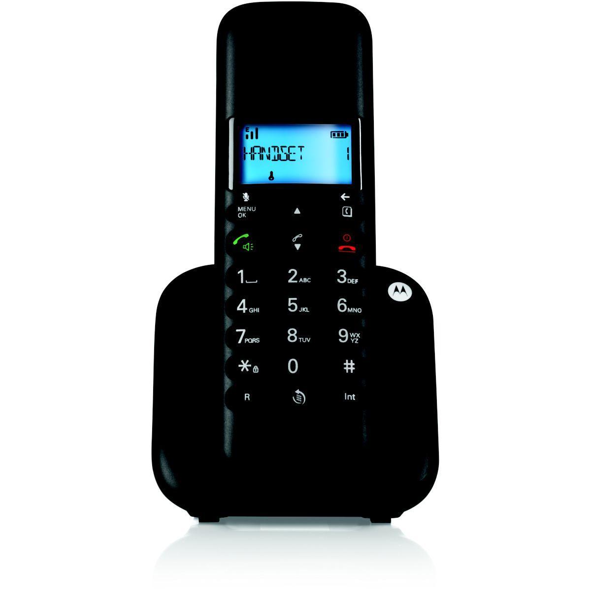 Téléphone motorola motorola t301 noir - 15% de remise immédiate avec le code : multi15 (photo)
