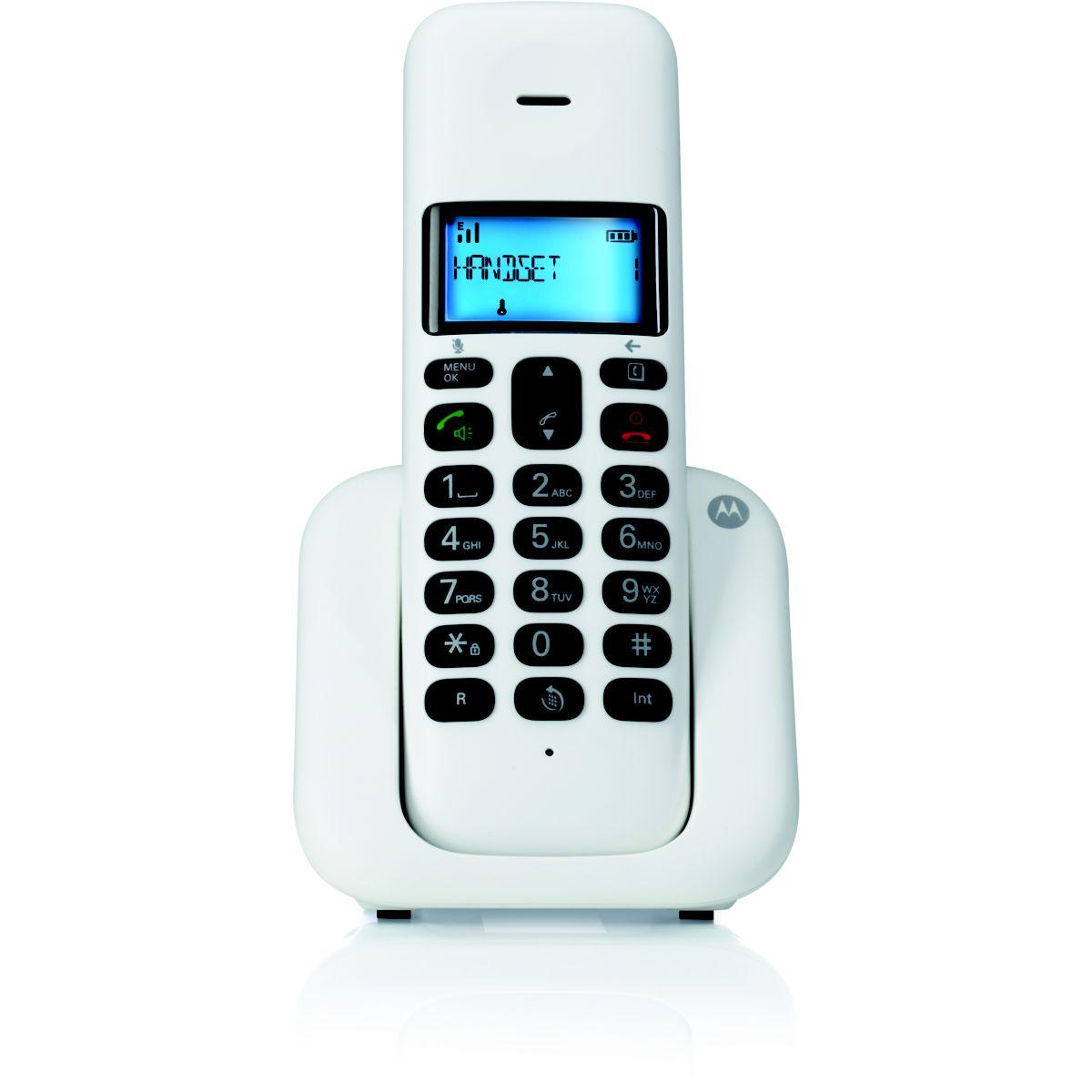 Téléphone motorola motorola t301 blanc - 15% de remise immédiate avec le code : multi15 (photo)