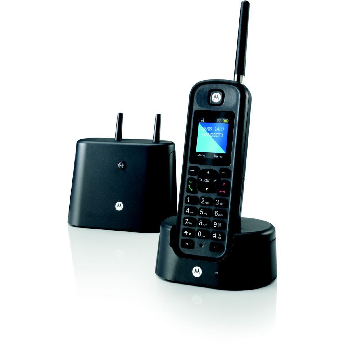 Téléphone motorola motorola o201 noir - 20% de remise immédiate avec le code : multi20 (photo)