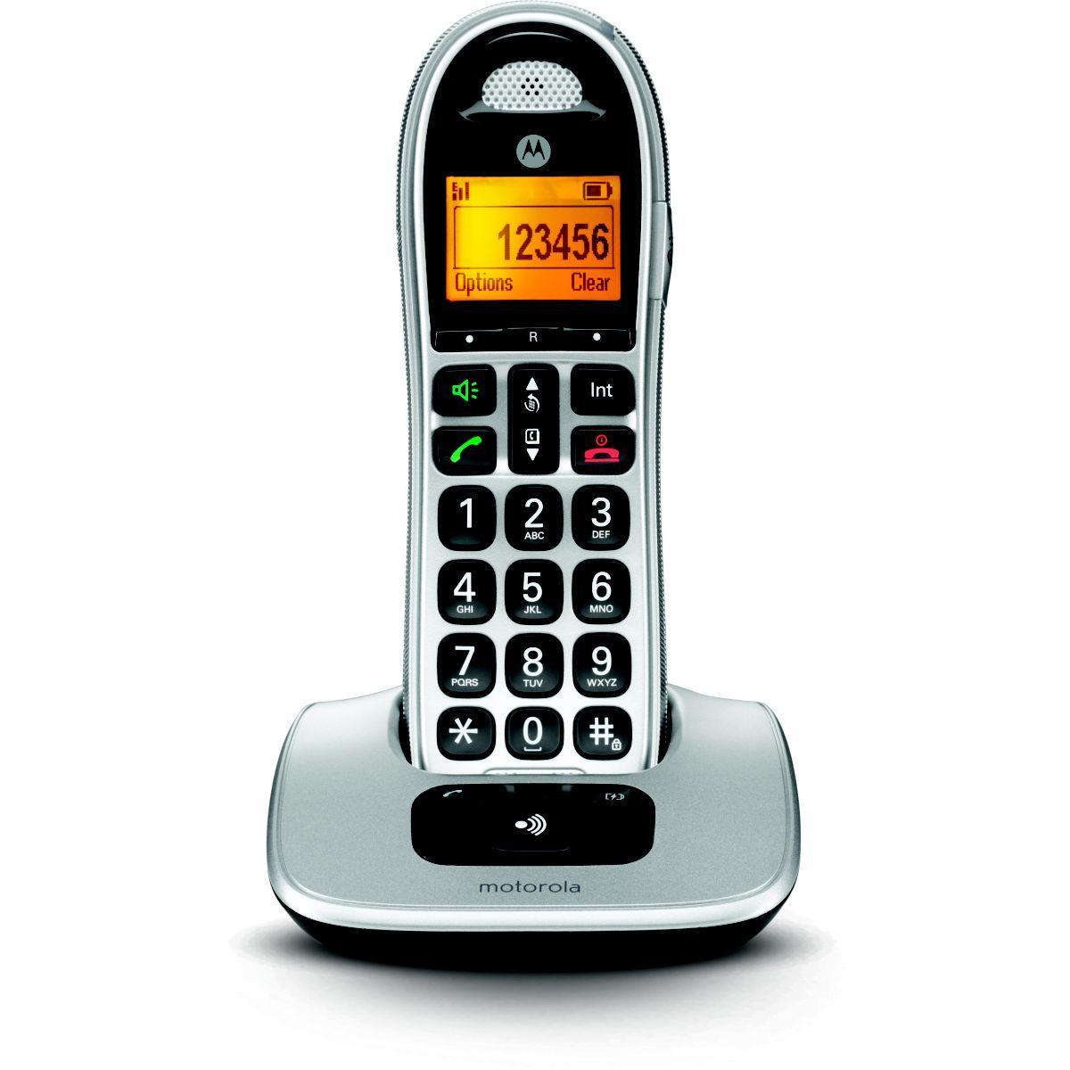 Téléphone motorola motorola cd301 silver - 10% de remise immédiate avec le code : multi10 (photo)
