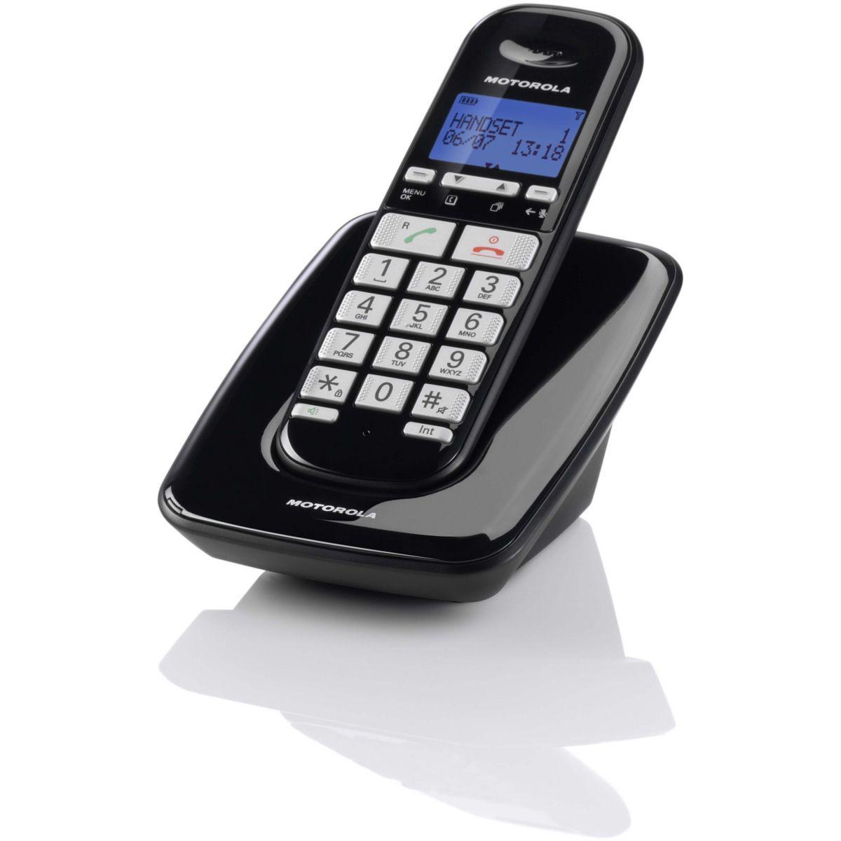 Téléphone motorola motorola s3001 noir - 15% de remise immédiate avec le code : multi15 (photo)