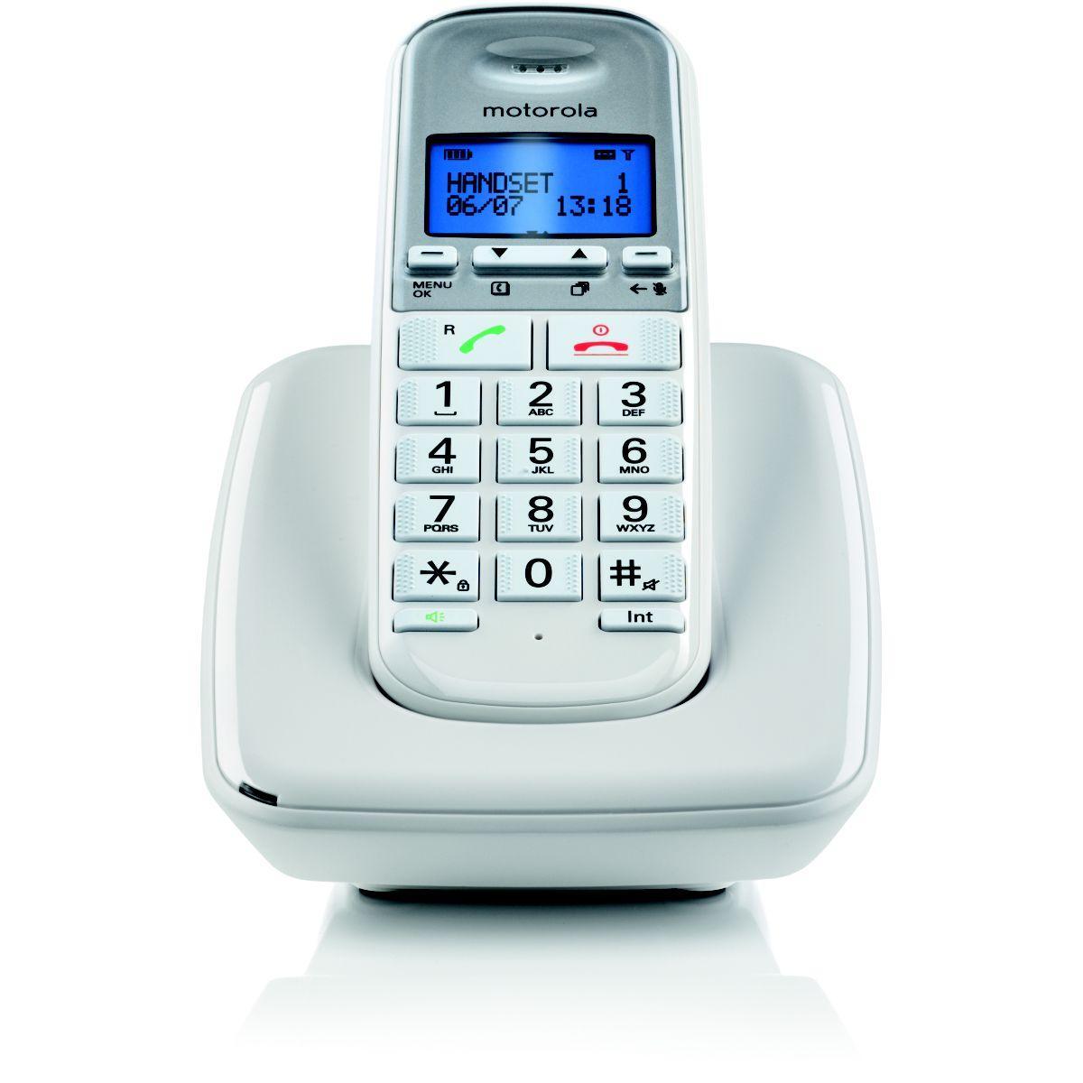 Téléphone motorola motorola s3001 blanc - 20% de remise immédiate avec le code : multi20 (photo)