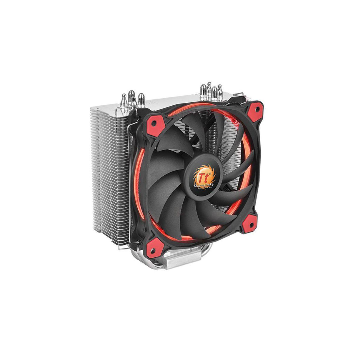 Ventilateur pc thermaltake riing silent 12 rouge - 2% de remise imm�diate avec le code : deal2 (photo)