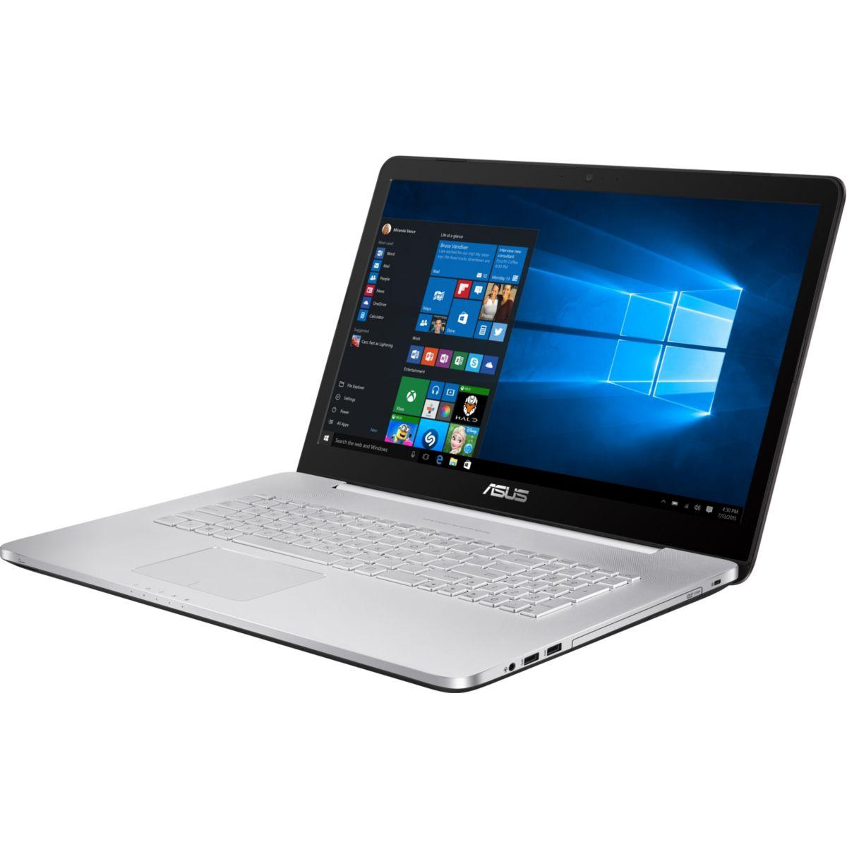 Portable asus n752vx-gb298t - 5% de remise : code multi5 (photo)