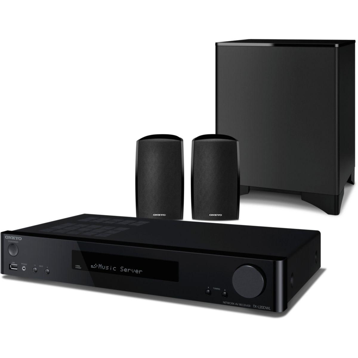 Enceintes tv onkyo ls5200 noir - notre coup de coeur