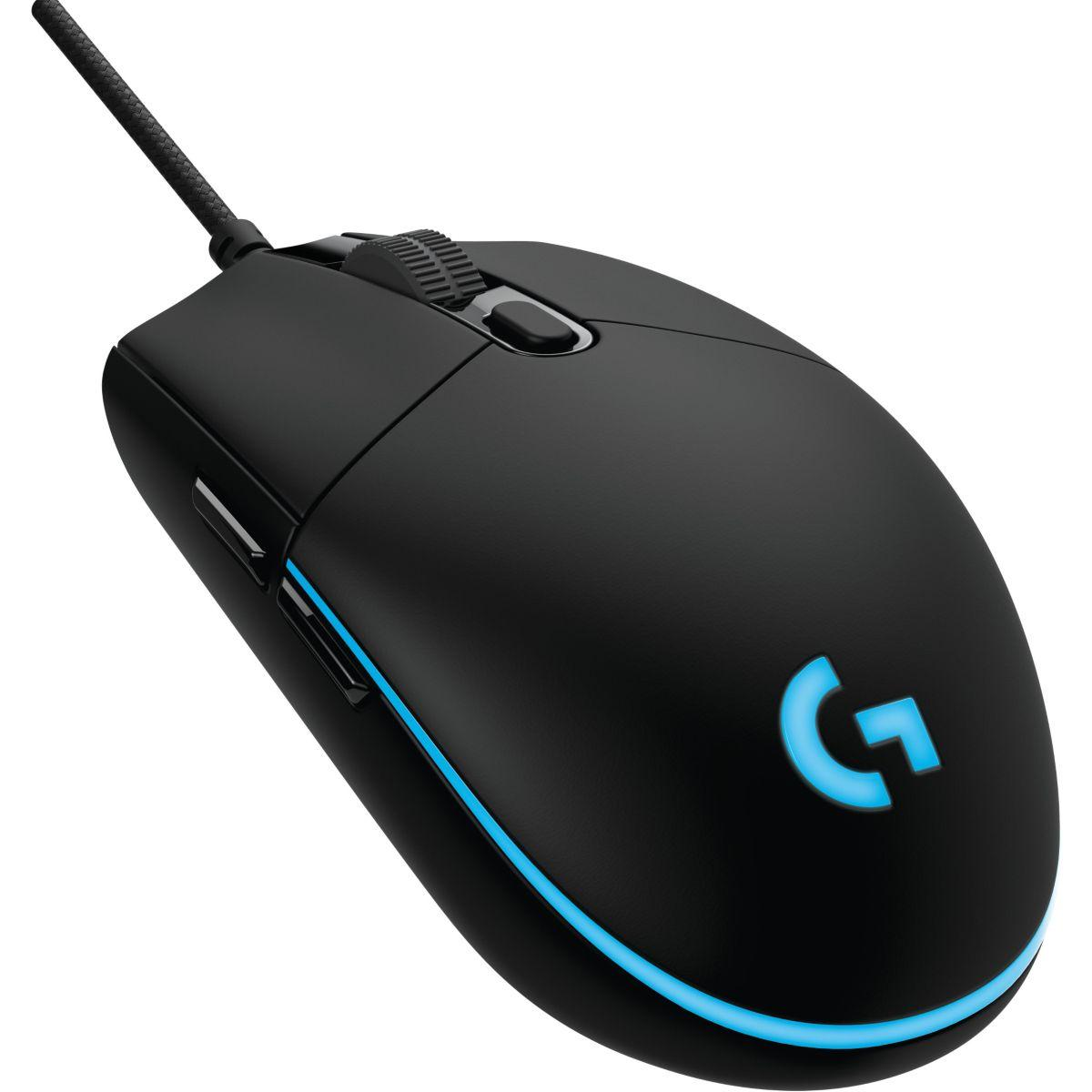 Souris gamer logitech pro gaming mouse - 20% de remise imm?dia...
