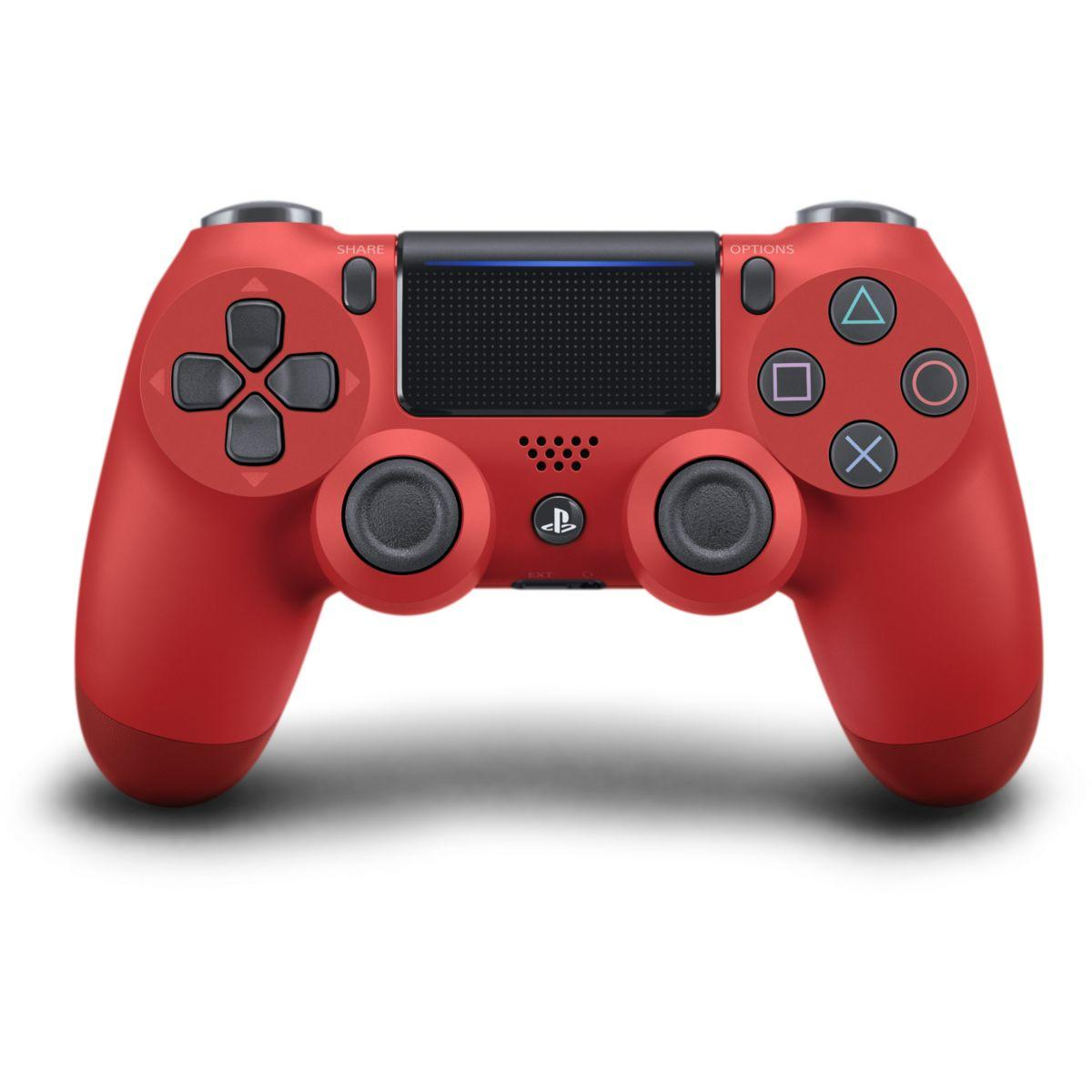 Acc. sony manette ps4 dual shock rouge v (photo)