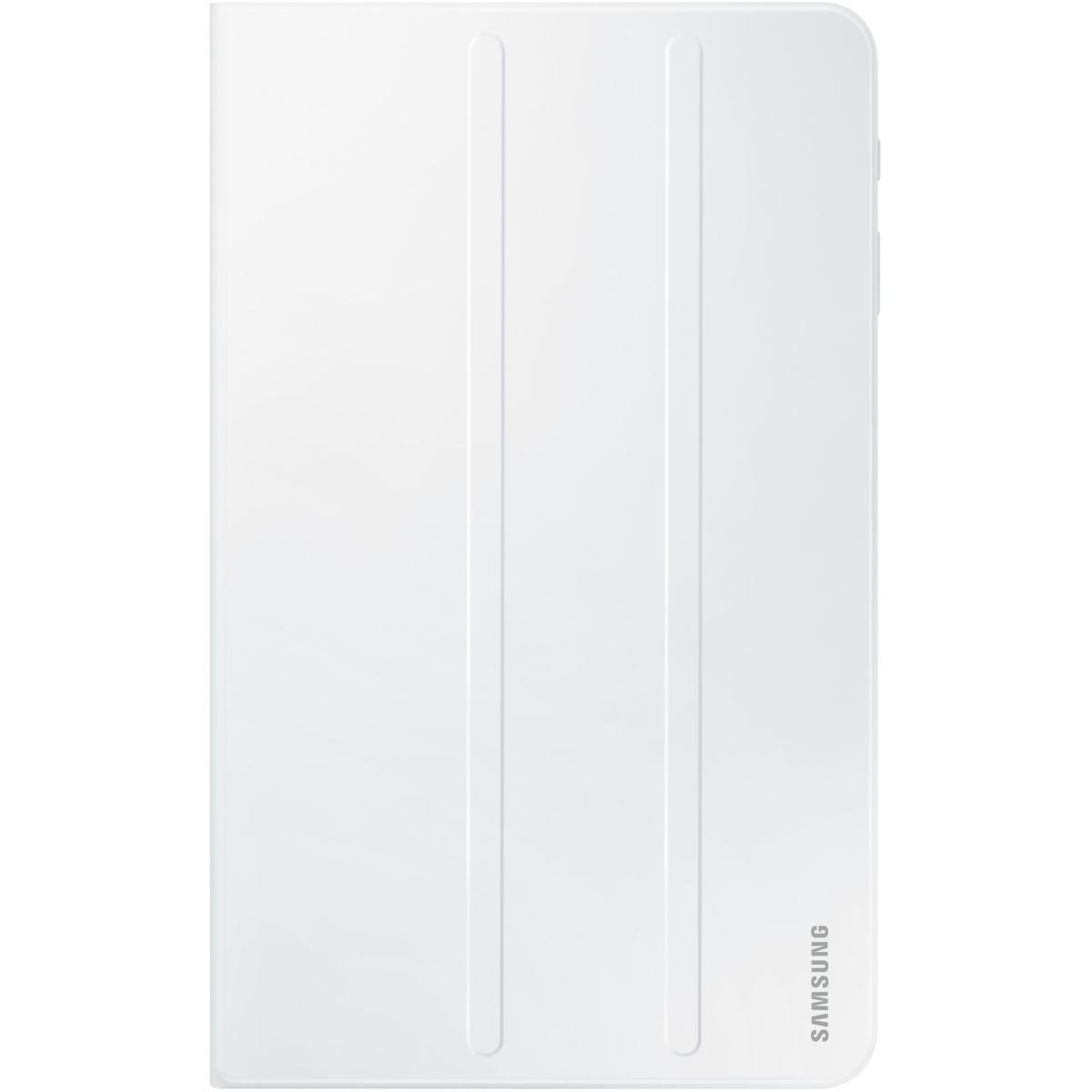 Etui tablette samsung book cover tab a 6 10'' blanc - livraison offerte : code liv (photo)