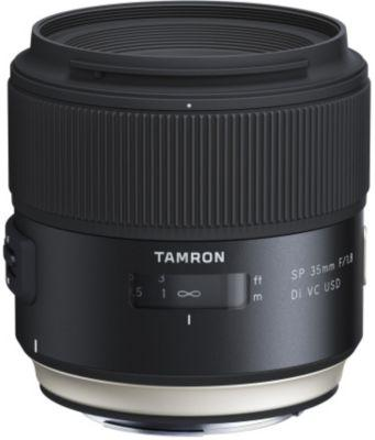 Pack promo objectif tamron sp 35 mm f/1,8 di vc usd sony + console tamron tap-01 e pour sony