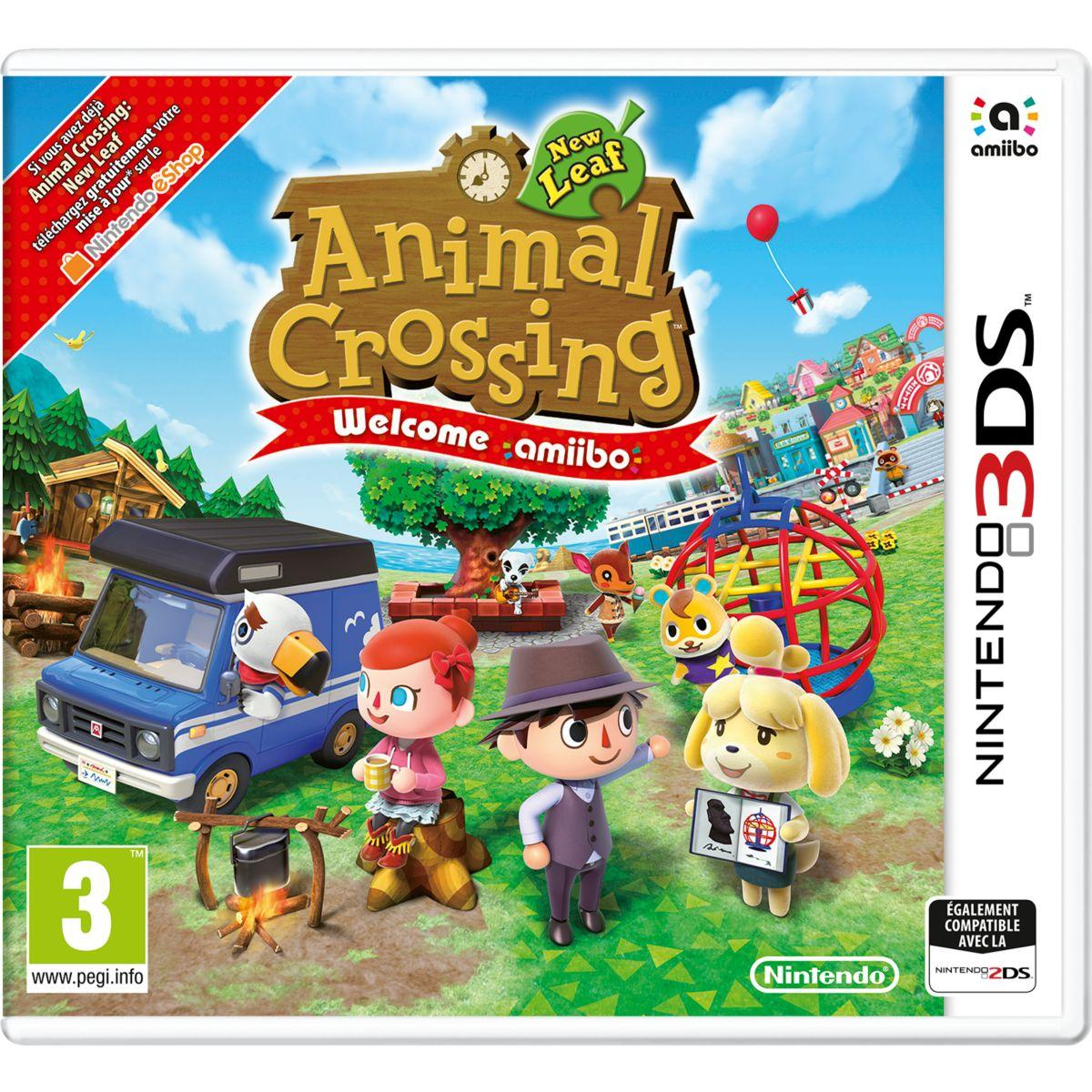 Jeu 3ds nintendo animal crossing new lea - 2% de remise immédiate avec le code : cool2 (photo)