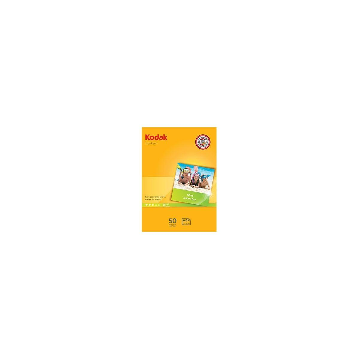 Papier photo kodak photo gloss ultra premium 180g a4 50f - 2% de remise imm�diate avec l
