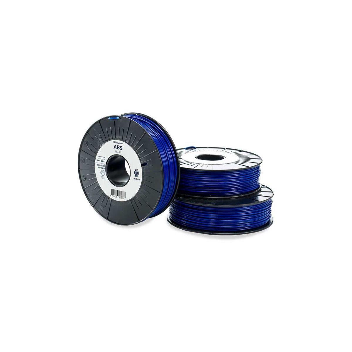 Filament 3d ultimaker abs bleu 2.85mm - 2% de remise imm?diate...