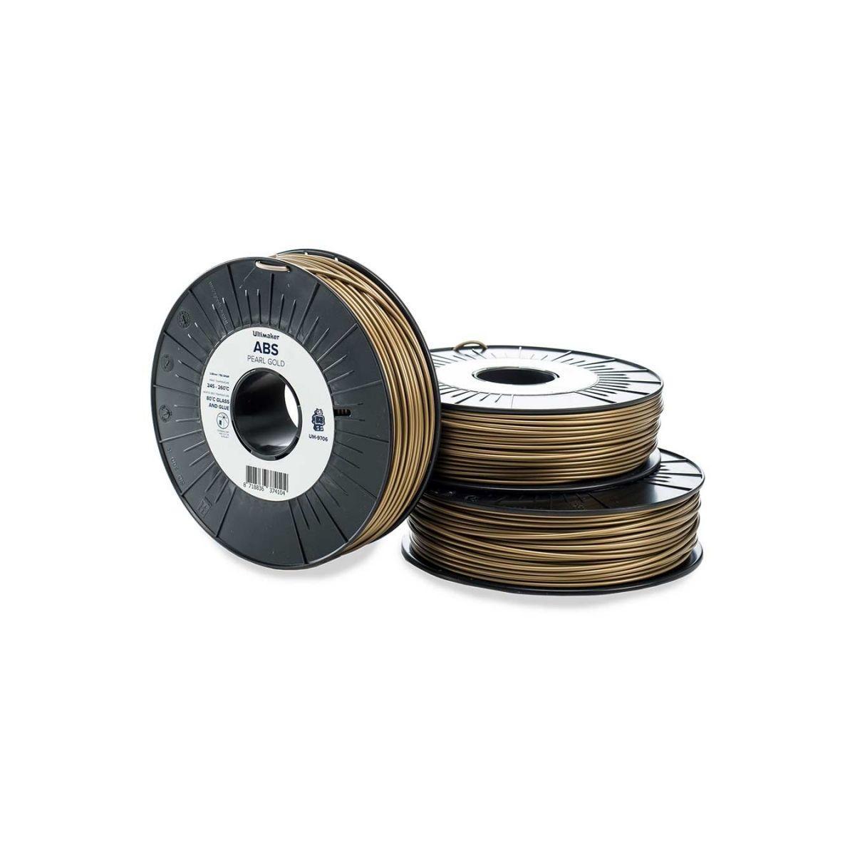 Filament 3d ultimaker abs or 2.85mm - 2% de remise imm?diate a...