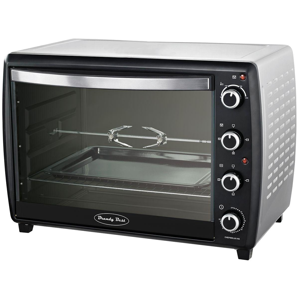 Mini four compact brandy best chef60lux-ns - 5% de remise immédiate avec le code : cool5 (photo)