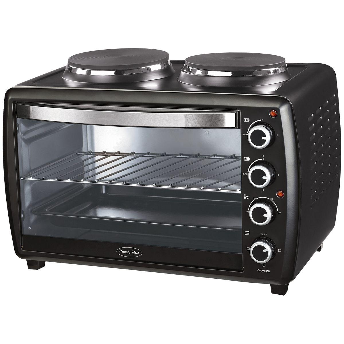 Mini four compact brandy best cook300n - 2% de remise immédiate avec le code : cool2 (photo)