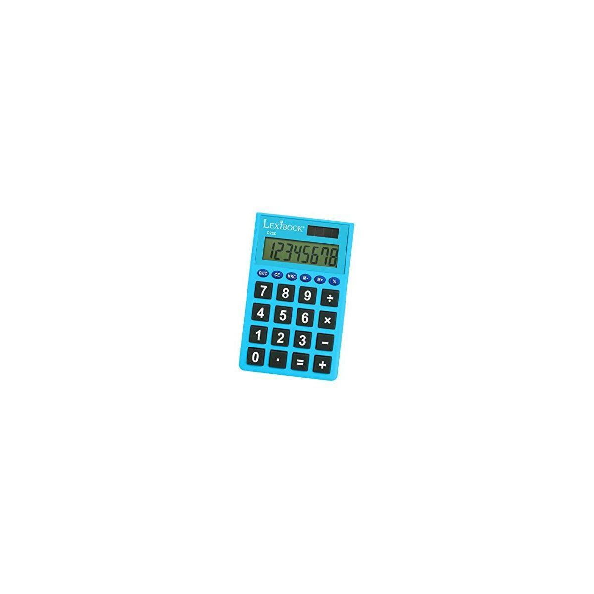 Calculatrice standard lexibook calculatrice de poche 8 chiffres-assorti - 2% de remise imm�diate avec le code : deal2 (photo)