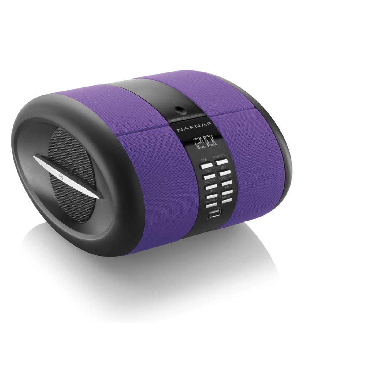 Radio cd nafnaf sense bt violet (photo)