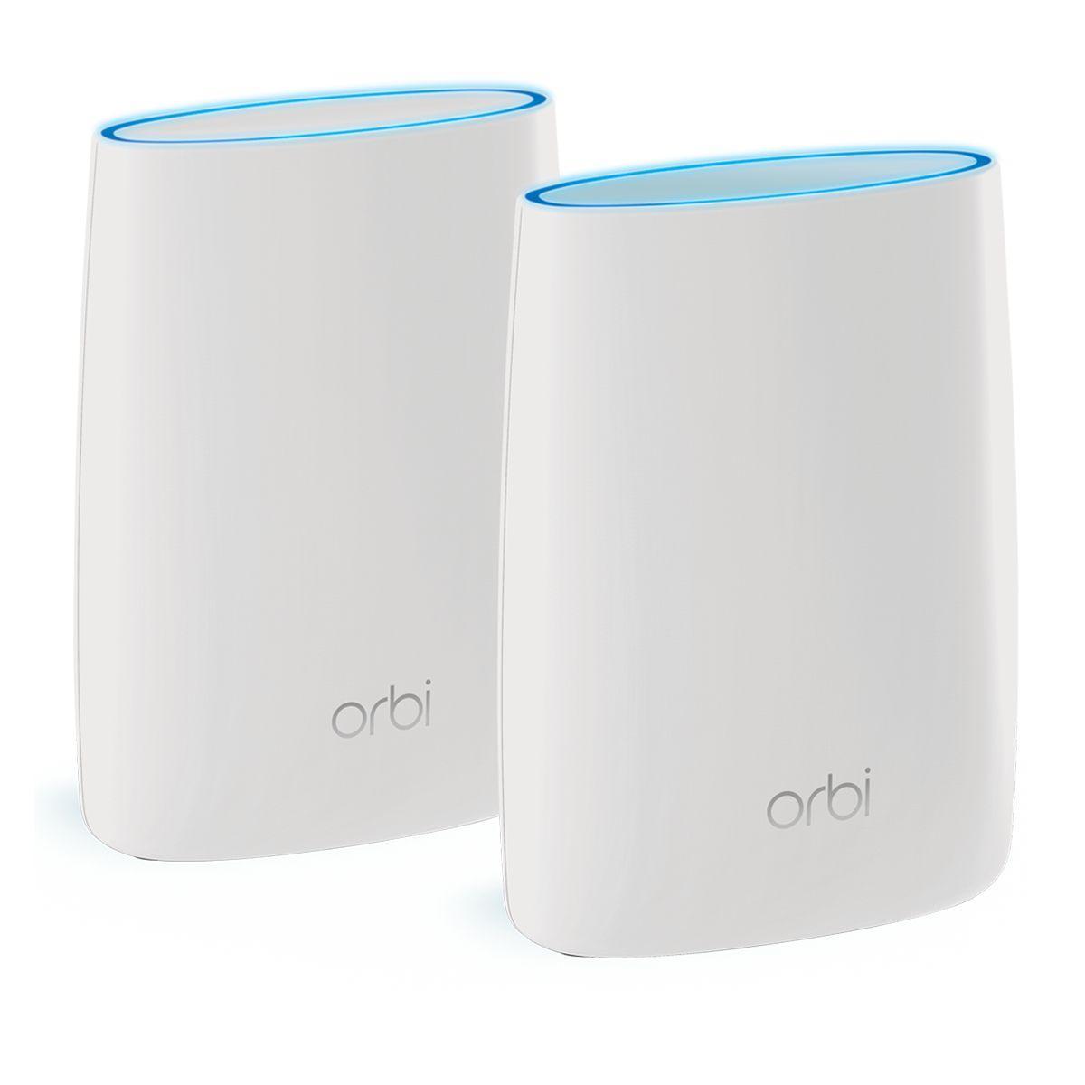 Modem/routeur wifi netgear orbi pack routeur+satellite rbk50-100pes - livraison offerte : code premium