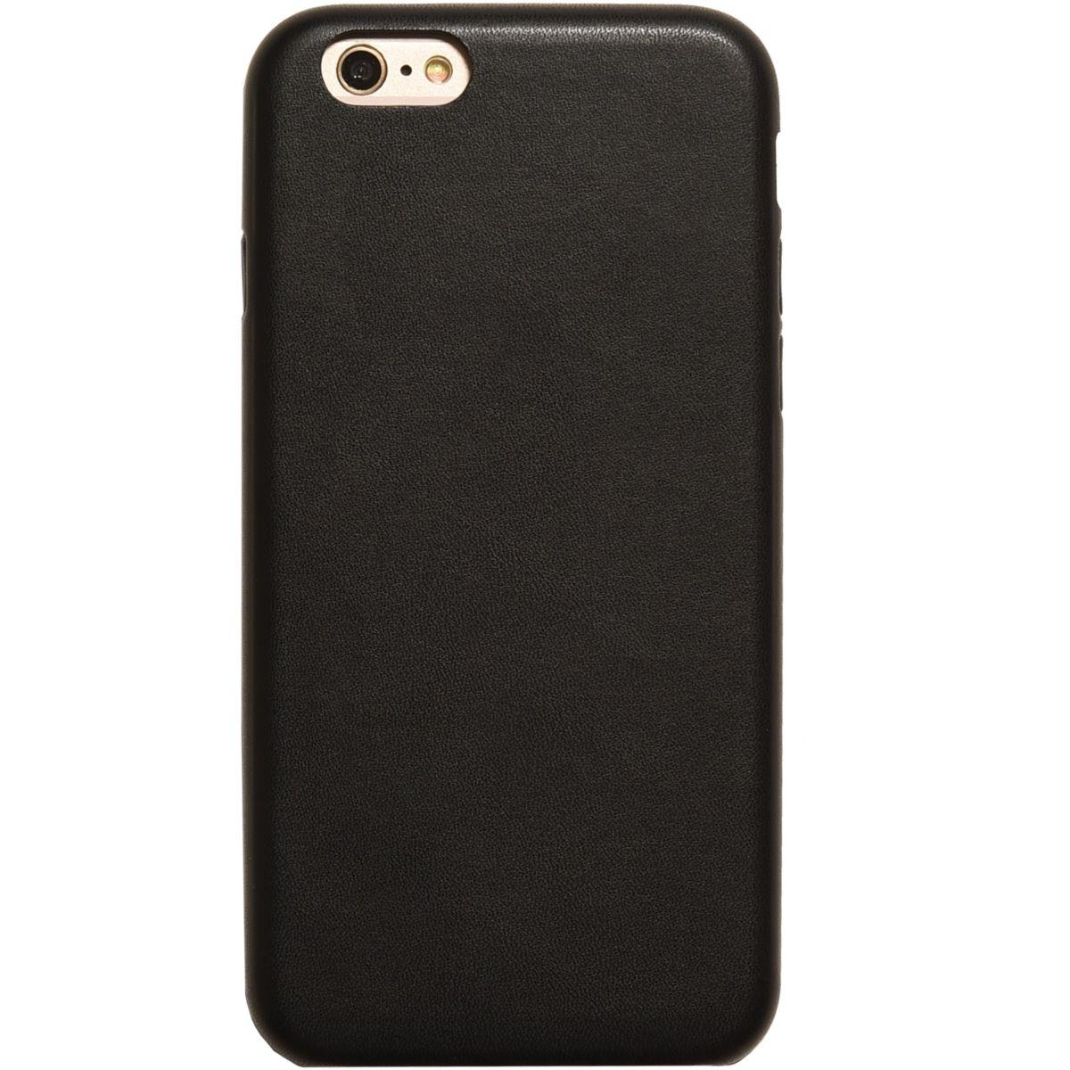 Coque adeqwat iphone 6 noir (photo)
