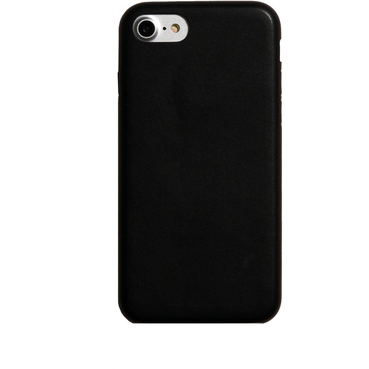 Coque adeqwat iphone 7 noir (photo)