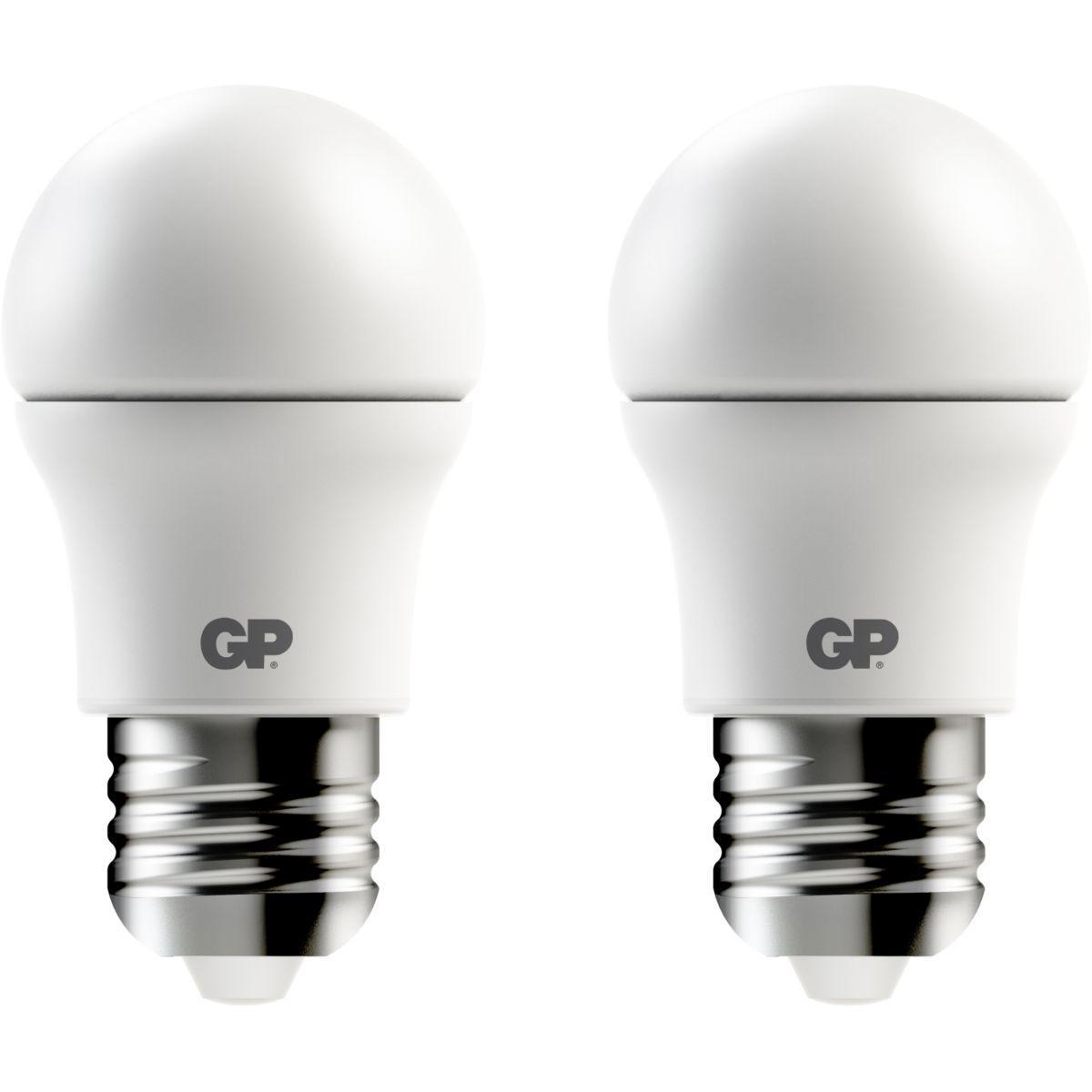 Ampoule gp led classic e27-6w x2 - 3% de remise immédiate avec le code : multi3