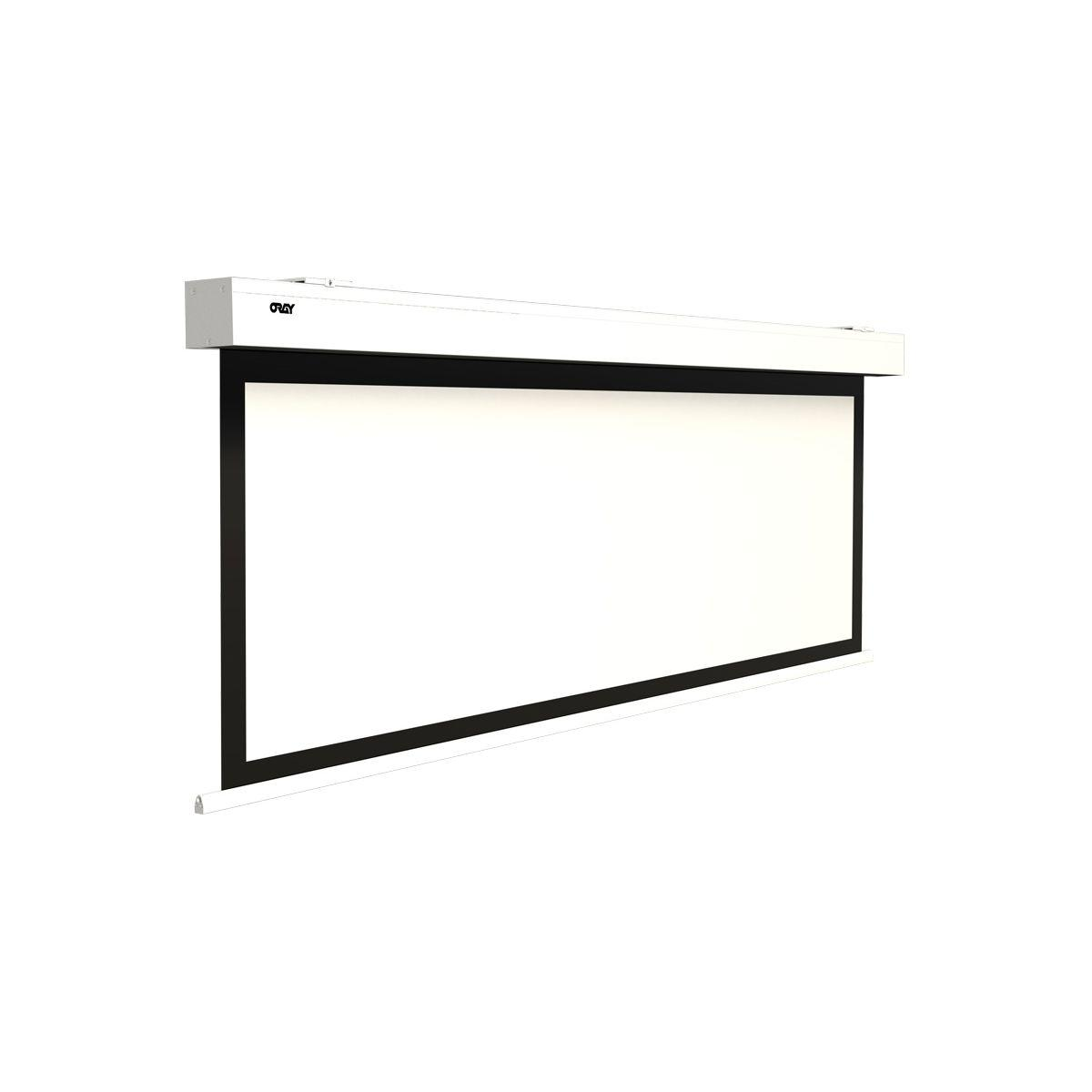 Ecran de projection oray square evolution hc motoris� 174x232 - 10% de remise imm�diate avec le code : deal10 (photo)